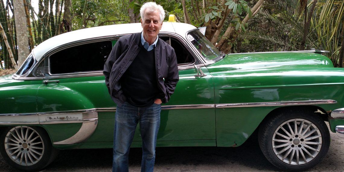 Robert Greenberger on a trip to Cuba