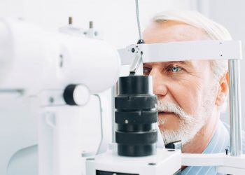 A simple eye exam may be able to detect Alzheimer's.
