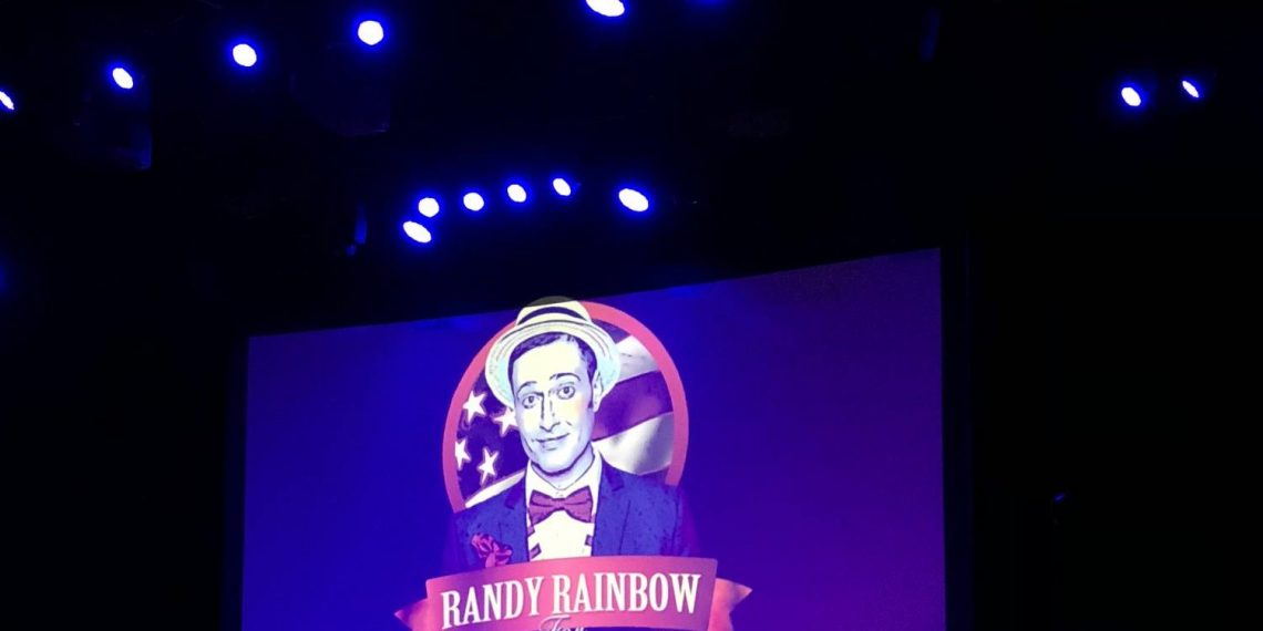 Phil Gutis had forgotten about seeing Randy Rainbow, but this photo brought back part of the memory.